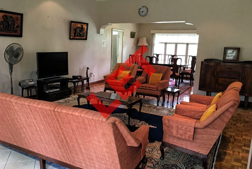 Fully Furnished Bungalow in Milimani