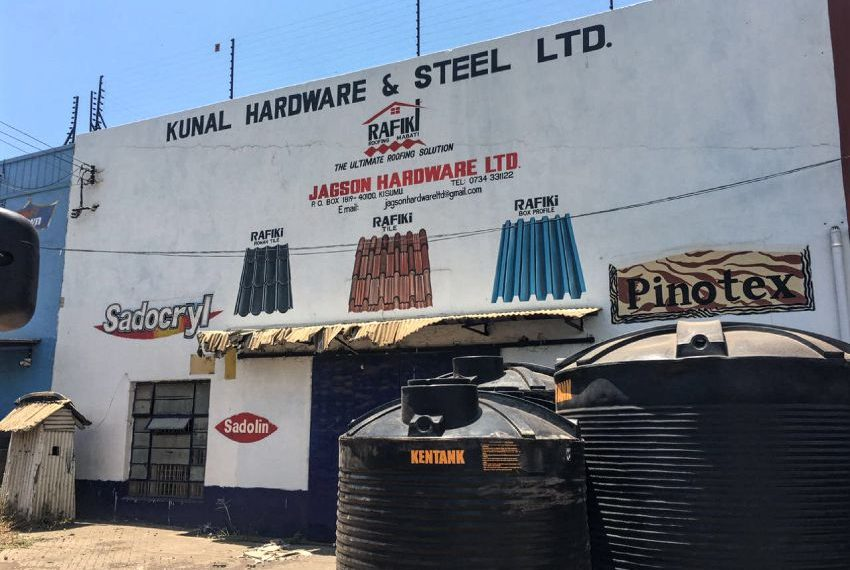 5500 sq.ft go down to let on Obote Road, Kisumu, Kenya. It is located in the heart of the city's Industrial area. Kshs 40/= per sq. ft. Plus 16% VAT High Security.