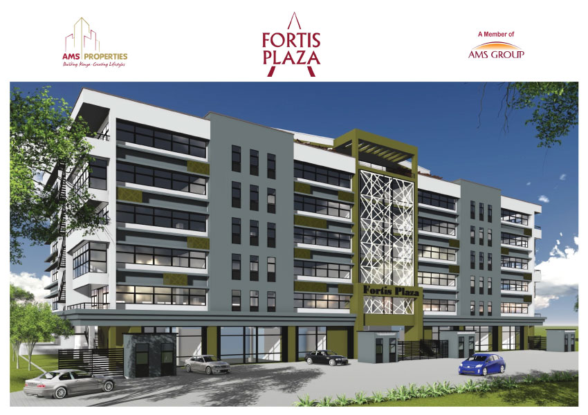 The Fortis Plaza, with spectacular views of Lake Victoria, this project will be the first high end office suites project in Milimani, Kisumu on Achieng Oneko Road. The development offers quality space for sale ranging from 500 sq.ft. to 10,000 sq.ft. Robust infrastructure and various amenities